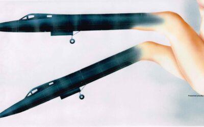 Aerotyki: SR-71 Blackbird