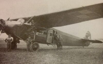 Fokker FVII/3m Polskiego Lotnictwa Wojskowego