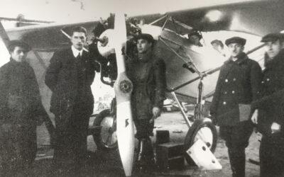 Śmigło Schwarz, LKL V, silnik Warner Scarab